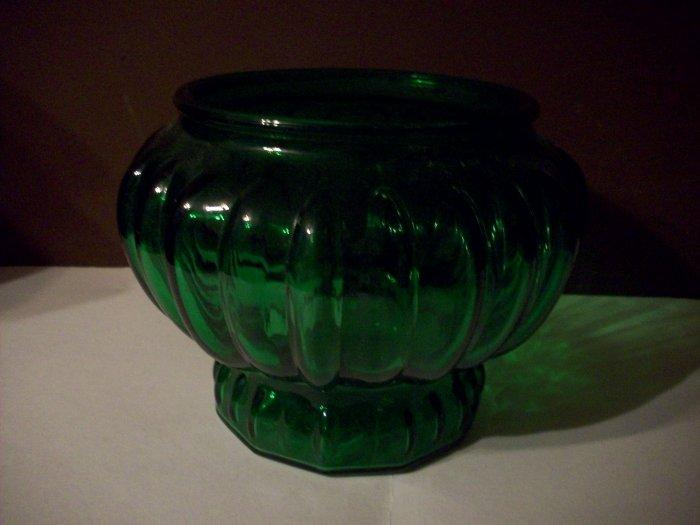 Inarco Green Glass Planter