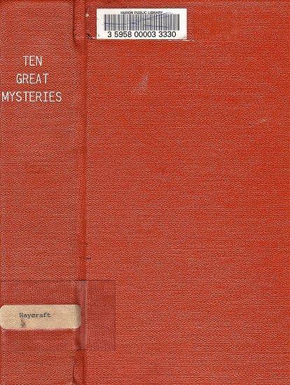 Ten Great Mysteries