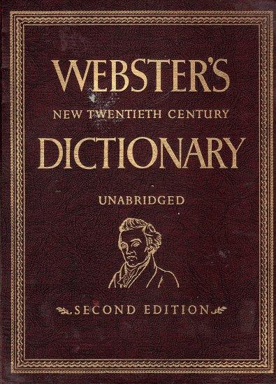 Webster's New Twentieth Century Dictionary