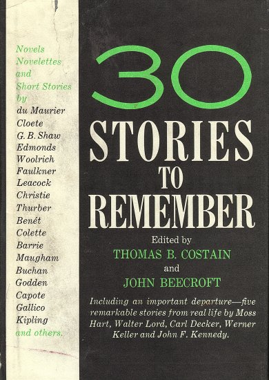 30 Stories to Remember
