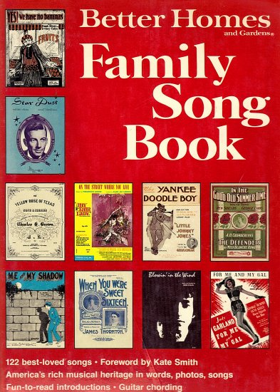 Better Homes and Gardens Family Song Book