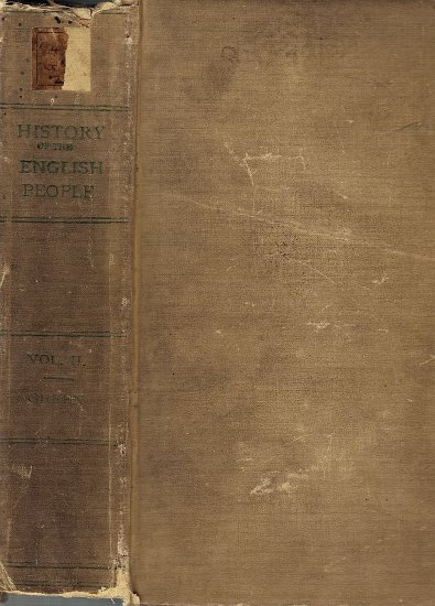 History of the English People Vol. 2 by John Richard Green