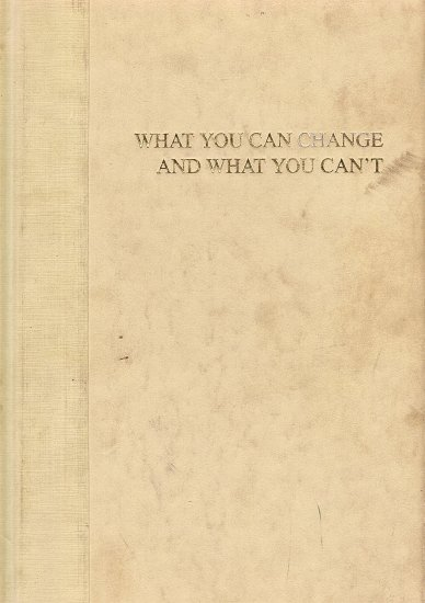 What You Can Change And What You Can't by Martin E.P. Seligman Ph.D.