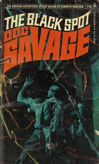 The Black Spot Doc Savage by Kenneth Robeson