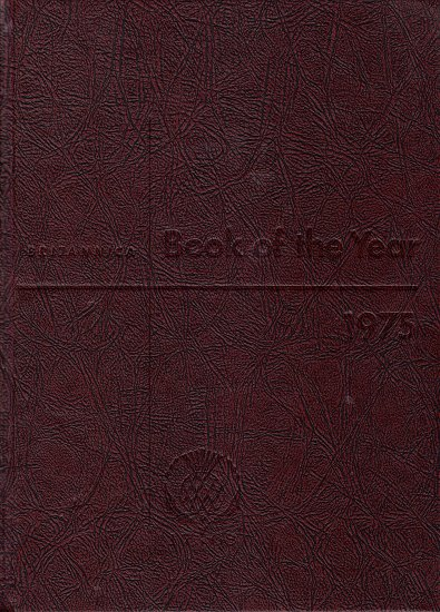 Britannica Book of the Year 1975  Events of 1974