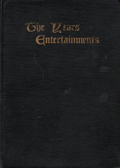 The Years Entertainments Compiled and arranged by Inez N. McFee