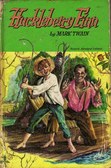 Huckleberry Finn Tom Sawyer's Comrade by Mark Twain