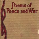 Poems of Peace and War compiled by W.J. Beecher