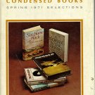 Reader's Digest Condensed Books Spring 1971 Selection