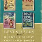 Best Sellers From Reader's Digest Condensed Books 1960