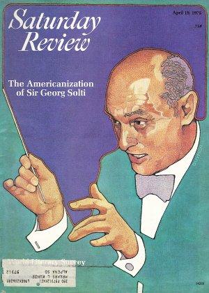 Saturday Review Magazine April 19, 1975