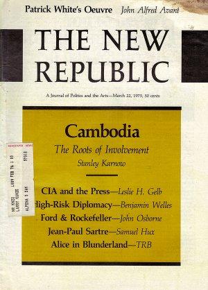 The New Republic Magazine March 22, 1975