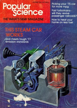 Popular Science Magazine October 1974