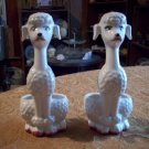 Pair of Poodle Candle Holders