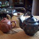 Lot of Three Vintage Tea Pots
