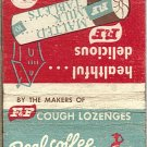 Coffee Time Candy Matchbook Cover