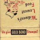 Randall's Super Market Matchbook Cover