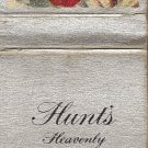 Hunt's Heavenly Peaches Anemone Matchbook Cover