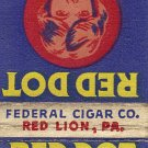 Red Dot Cigars Matchbook Cover