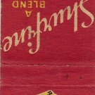 Shurfine Coffee Matchbook Cover