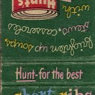 Hunt's Tomato Sauce Matchbook Cover