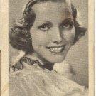 Vintage Golden Grain Tobacco Card  Adrienne Ames