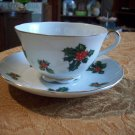 Lefton Hand Painted Cup and Saucer