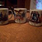 Three Bicentennial Cups