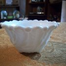Small Vintage Milk Glass Bowl