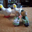 Set of Two Ceramic Salt And Pepper Shakers