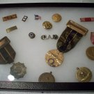 World War II Medals and Buttons