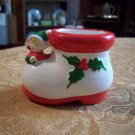 Vintage Inarco Ceramic Shoe and Elf Planter