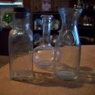Lot of Three Vintage Bottles