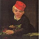 Boy With Cherries Lithograph by Edouard Manet