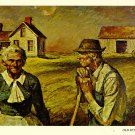 Old Settlers Postcard by Harvey Dunn