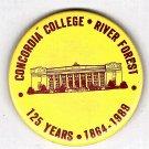 Concordia College 125 Years 1864-1989 Button