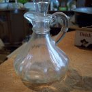 Clear Glass Pitcher With Glass Stopper