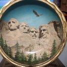 Vintage James L. Artig Mr. Rushmore Metal Bowl