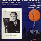 Vintage Sheet Music Keep A Light In Your Window Tonight