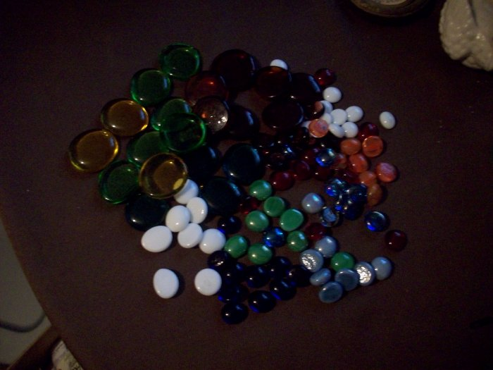 Lot of 97 Glass Stones