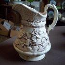 Unique Vintage Ceramic Pitcher