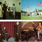 Lot of 21 1970's Postcards of Wax Museum, Keystone SD