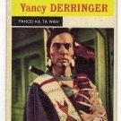 Vintage Yancy Derringer Collector Card No. 5