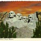 Vintage Postcard Mount Rushmore National Monument