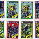 Lot of 26 Marvel Comics Cards -Super Heroes, Super Villians and Famous Battles