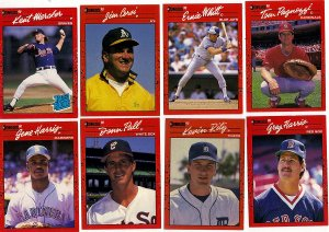 Lot of 16 Don Russ 90 Baseball Cards