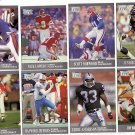 Lot of Fourteen Fleer Ultra Football Cards