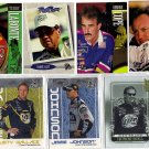 Lot of 9 Press Pass Nascar Cards