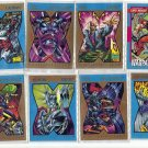 Lot of 16 Marvel Collector Trading Cards