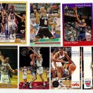 Lot of 7 Basketball Collector Cards